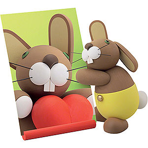 Small Figures & Ornaments Günter Reichel Bunnies with pants Bunny