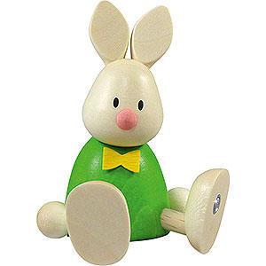Small Figures & Ornaments Max & Emma (Hobler) Bunny Max Sitting - 9 cm / 3.5 inch