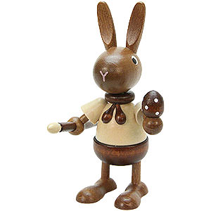 Small Figures & Ornaments Animals Rabbits Bunny Painter Natural - 10,5 cm / 4.1 inch