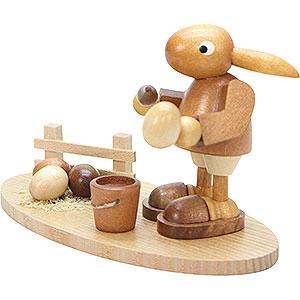 Small Figures & Ornaments Animals Rabbits Bunny-Painter Natural Colors - 10,0 cm / 4 inch