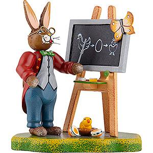 Small Figures & Ornaments Hubrig Rabbits Country Bunny School Teacher Lempel - 10 cm / 4 inch