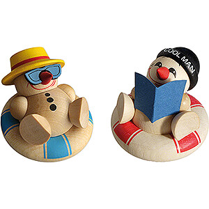 Gift Ideas Retirement COOL MAN Holiday - 2 pcs. - 5 cm / 2 inch