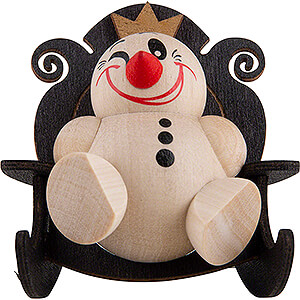 Small Figures & Ornaments Cool Man (Karsten Braune) COOL MAN Snow King the First - 6 cm / 2.4 inch
