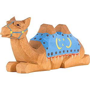 Small Figures & Ornaments Nativity Scenes Camel lying - 4 cm / 1.6 inch