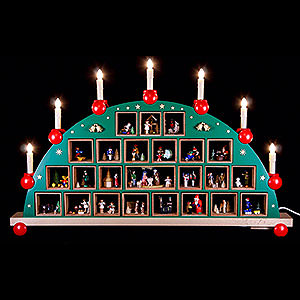 Candle Arches All Candle Arches Candle Arch - Advent Calendar - 48x76 cm / 19x30 inch