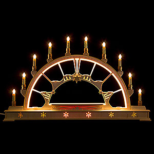 Candle Arches Illuminated inside Candle Arch - Blank - 78x45 cm / 30.7x17.7 inch