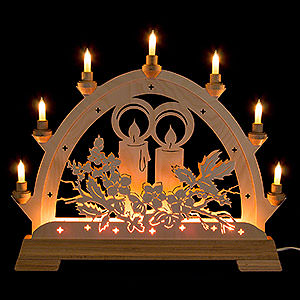 Candle Arches Fret Saw Work Candle Arch - Candle - 48 cm / 18.9 inch