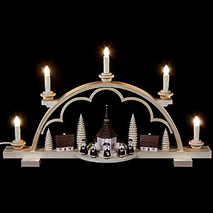 Candle Arches All Candle Arches Candle Arch - Carolers Village - 57 cm / 22 inch - 120 V Electr. (US-Standard)