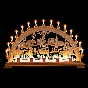Candle Arches All Candle Arches Candle Arch - Christmas Market - 89x49 cm / 35x19.3 inch