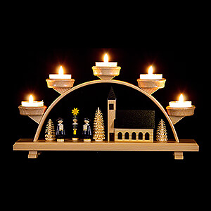 Candle Arches All Candle Arches Candle Arch - Church - 33x16,5 cm / 13x6.5 inch