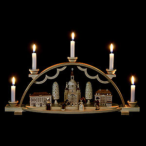 Candle Arches All Candle Arches Candle Arch - Church of Our Lady in Dresden - 47 cm / 19 inch