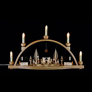Candle Arches Illuminated inside Candle Arch -