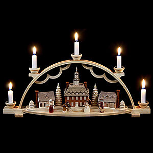 Candle Arches All Candle Arches Candle Arch - Colonial Village - 47x11x20 cm / 19x4x8 inch