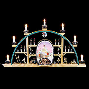 Candle Arches All Candle Arches Candle Arch - Freiberg Cathedral - 70x40 cm / 27.5x15.7 inch