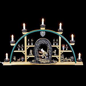 Candle Arches All Candle Arches Candle Arch - Miner Kneeling - 70x40 cm / 27.5x15.7 inch