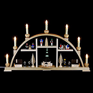 Candle Arches All Candle Arches Candle Arch - Motives From Seiffen - 63x37 cm / 25x15 inch