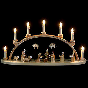 Candle Arches All Candle Arches Candle Arch - Nativity - 60 cm / 24 inch