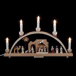 Candle Arches All Candle Arches Candle Arch - Nativity Scene - 19x11 inch - 48x28 cm / 11 inch