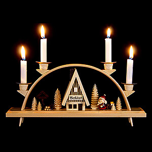 Candle Arches All Candle Arches Candle Arch - Santa Claus - 33x15 cm / 13x5.9 inch