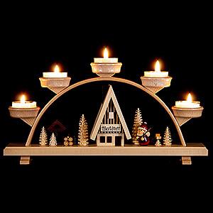 Candle Arches All Candle Arches Candle Arch - Santa Claus - 33x16,5 cm / 13x6.5 inch