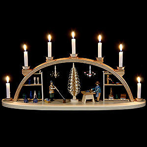 Candle Arches All Candle Arches Candle Arch - Seiffen Workshop - 60 cm / 24 inch