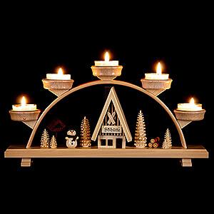 Candle Arches All Candle Arches Candle Arch - Snowman - 33x16,5 cm / 13x6.5 inch