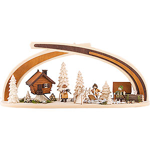 Candle Arches All Candle Arches Candle Arch - Solid Wood at the Creek - 59x30 cm / 23x11.8 inch