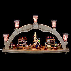 Candle Arches All Candle Arches Candle Arch - The Erzgebirge Workshop - Electrical - 48 cm / 19 inch