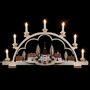 Candle Arches All Candle Arches Candle Arch - Village Seiffen - 64 cm / 25 inch