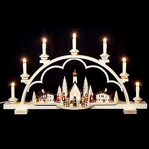 Candle Arches All Candle Arches Candle Arch - Village in the Alps - 64 cm / 25 inch