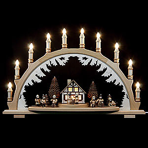 Candle Arches All Candle Arches Candle Arch - Winterchildren - 67x42 cm / 26x17 inch
