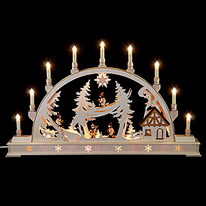 Candle Arches All Candle Arches Candle Arch - Winterchildren - 78x45 cm / 31x18 inch