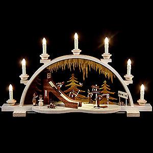 Candle Arches All Candle Arches Candle Arch - Wintersport - 65 cm / 26 inch
