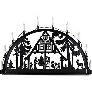 Candle Arches All Candle Arches Candle Arch for Outside - Forest Hut - 100-300 cm / 40-120 inch