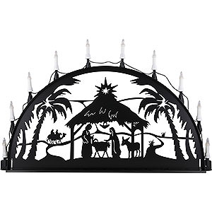 Candle Arches All Candle Arches Candle Arch for Outside - Nativity - 100-300 cm / 40-120 inch