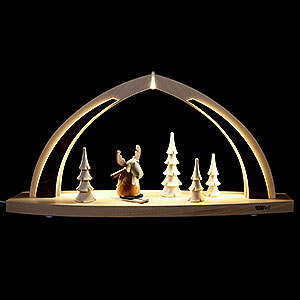 Candle Arches All Candle Arches Candle Arch - modern wood - Moose - 41x20x9,5 cm / 16x8x3,75 inch
