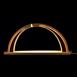 Candle Arches All Candle Arches Candle Arch - modern wood - without Figurines - 57x26 cm / 22.4x10.2 inch