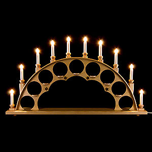 Candle Arches All Candle Arches Candle Arch without Angels - Natural - 70x40 cm / 27.5x15.7 inch
