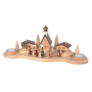World of Light Candle Holder Misc. Candle Holders Candle Holder - Alpine Village - 16 cm / 6 inch