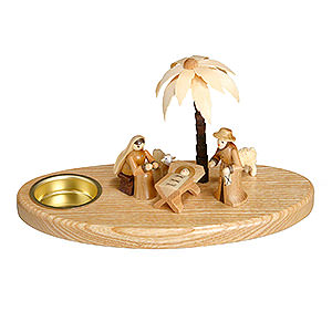 World of Light Candle Holder Nativity Candle Holder - Nativity - 11 cm / 4 inch