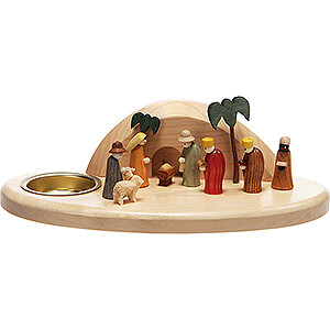World of Light Candle Holder Nativity Candle Holder - Nativity - 6 cm / 2.4 inch
