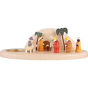 World of Light Candle Holder Nativity Candle Holder - Nativity - 6 cm / 2.4 inch