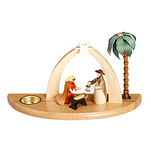 World of Light Candle Holder Nativity Candle Holder - Nativity Scene - 17 cm / 7 inch