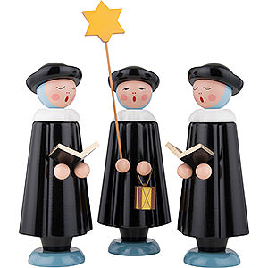 Small Figures & Ornaments Carolers Carolers Large - 30 cm / 12 inch