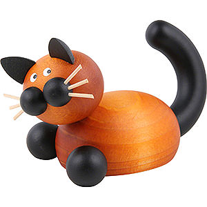 Small Figures & Ornaments Animals Cats Cat Bommel in Ambush - 5,5 cm / 2 inch