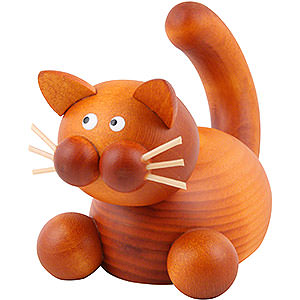 Small Figures & Ornaments Animals Cats Cat Charlie in Ambush - 5,5 cm / 2 inch