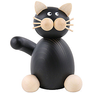 Small Figures & Ornaments Animals Cats Cat Hilde Sitting - 7 cm / 2.8 inch