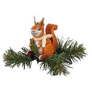 Baumschmuck Sonstiger Baumschmuck Christbaumschmuck Baumclipser Eichhörnchen - 7,5 cm