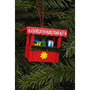 Baumschmuck Spielzeug-Design Christbaumschmuck Christkindlmarkt Spielzeug - 6,3x5,3 cm