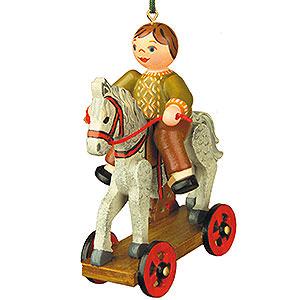 Baumschmuck Spielzeug-Design Christbaumschmuck Der erste Ausritt - 7,5 cm